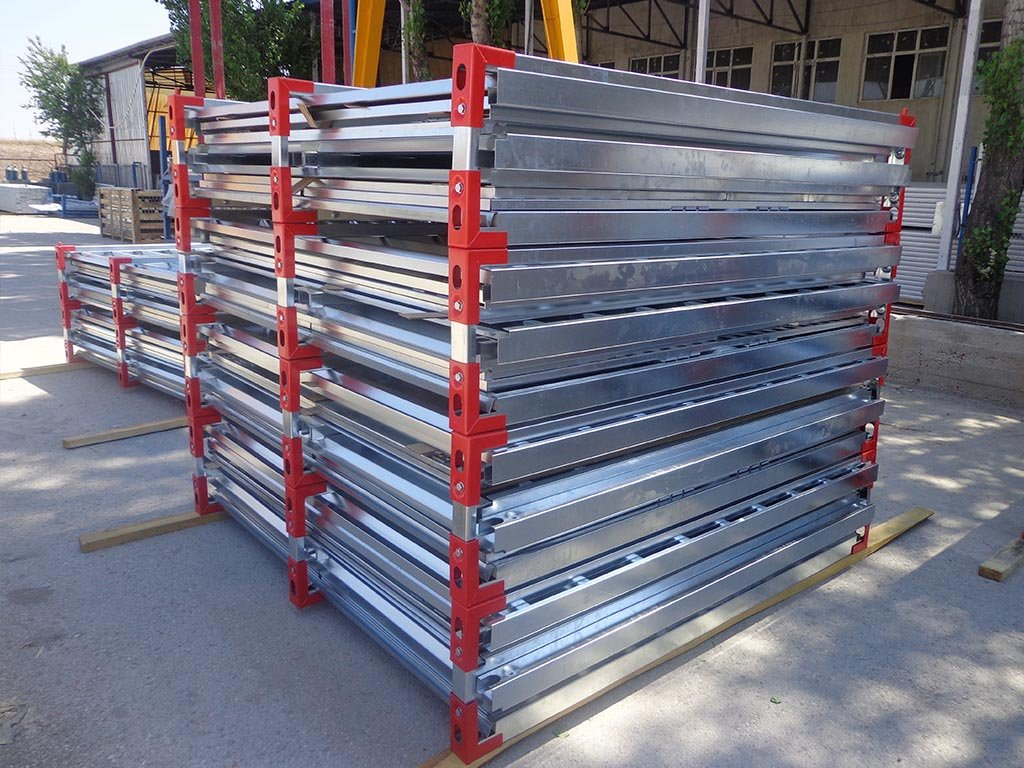 steel storage containers Demontable
