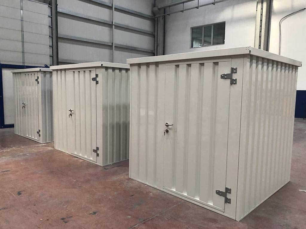 FLAT-PACK STORAGE CONTAINERS